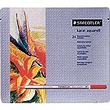 ステッドラー カラトアクェレル125水彩鉛筆 24色セット