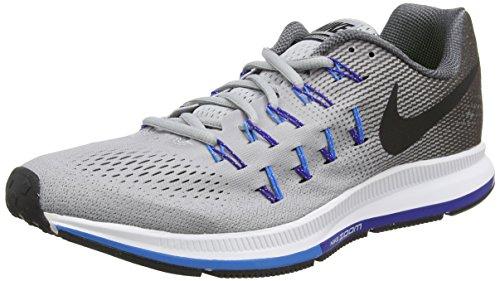 Nike Mens Air Zoom Pegasus 33 Wolf Grey/Black/Dark Grey Running Shoe 10.5 Me... (Nike Air Shoes Men compare prices)
