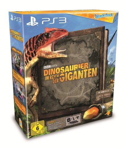 Dinosaurier - Im Reich der Giganten Bundle (Spiel inkl. Wonderbook, Move - Motion - Controller & Camera) - [PlayStation 3]