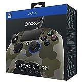 NACON Revolution PRO Controller Gamepad Camo Green Edition PS4 Playstation 4 eSports Designed (Color: Camouflage Green)