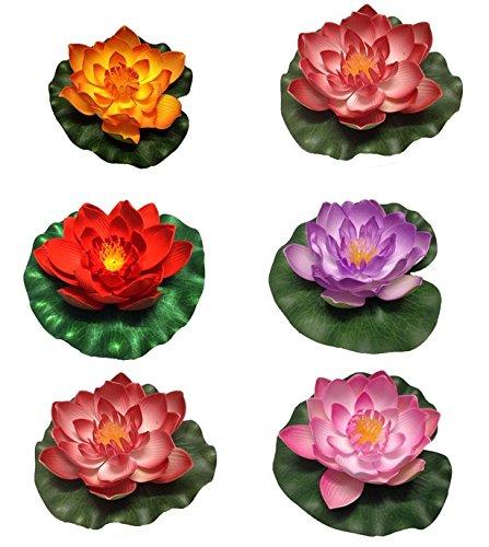 6-pcs-artificial-lotus-water-lily-bud-bloom-flowers-aquarium-fish-tank-floating-decor-free-shipping