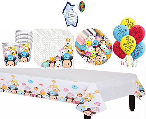 [Disney TSUM TSUM Deluxe Party Supply Pack With Free Gift] (Hello Kitty Pinata Kit)