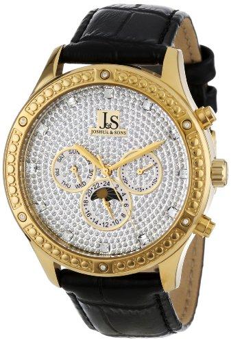 Joshua & Sons JS-41-YG - Reloj para hombres