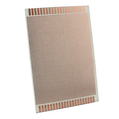 Zcl Universal Glass Fiber Pcb Breadboard For Diy Project-Brown