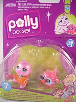 Mattel - P8768 - Polly Pocket - Poupée - Duo Animaux Polly Pocket Amis Foret