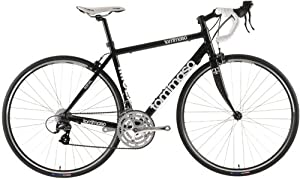 Tommaso Imola with Carbon Fork Road Bike , Black, 50