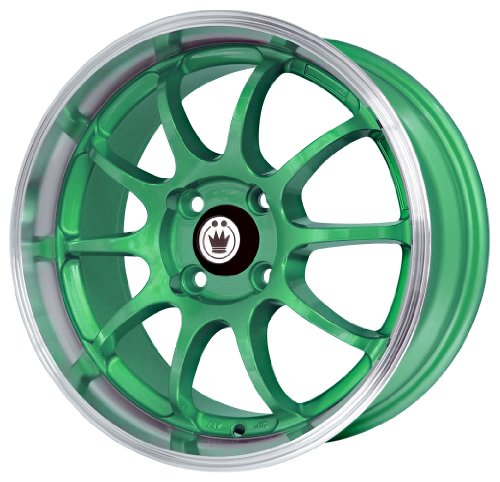 Konig Lightning Green - 15 x 7 Inch Wheel