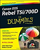 Canon EOS Rebel T5i/700D For Dummies