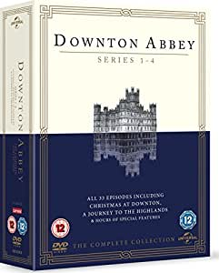 Downton Abbey - Series 1-4 [DVD] [2013]