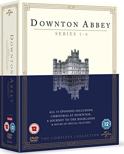 Downton Abbey-Series 1-4 [DVD] [Import]