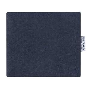 Blue Badge Company Denim Hologram-Safe Disabled Parking Permit Holder and Timer Wallet