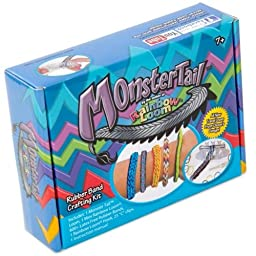 Rainbow Loom Monster Tail Bracelet Making Kit Girls Accessories