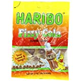 Haribo Gummi Candy, Fizzy Cola, 5-Ounce Bags (Pack of 12) ~ Haribo