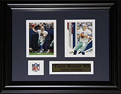 Tony Romo Dallas Cowboys 2 Card Frame