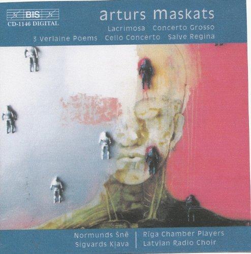 Lacrimosa / Cto Grosso / 3 Poems / Salve Regina by A. Maskats (2002-08-02)