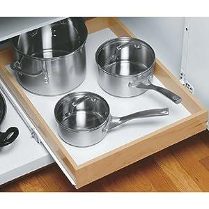 Wood Roll Out Cabinet Shelf 22 Inch Depth 27 Inch