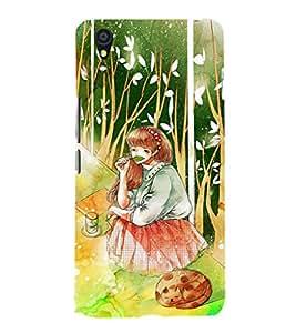 EPICCASE Nature's girl Mobile Back Case Cover For OnePlus X (Designer Case)