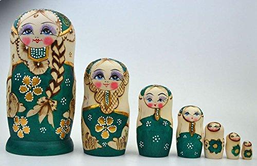 7-Layers-Traditional-Matryoshka-Dolls-Russian-Wooden-Nesting-Dolls-For-Boys-and-Girls-Gift-Green-Art-Dolls