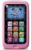 Leapfrog - 83018 - Jeu d'Imitation - Mon Téléphone - Parle et Compte - Nouvelle Version - Rose