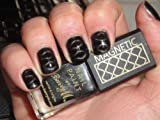 Barry M Magnetic Wave Nail Polish - Dark Silver