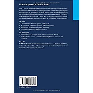 Risikomanagement in Kreditinstituten: Eine Darstellung für Praktiker mit Fallbeispiel zum