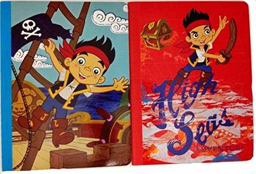 Jake and The Never Land Pirates Composition Notebook Set - (Pack of 2)