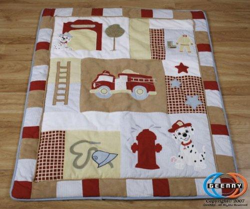 Fire Truck Crib Bedding : Boutique baby boy firetruck pcs crib bedding set