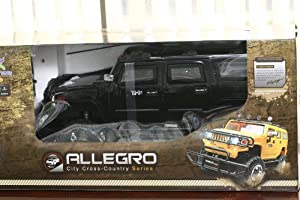 1/6 Scale Black Hummer Humvee Radio Remote Control Truck SUV