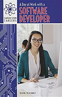 Book Cover: A Day at Work with a Software Developer