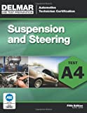 img - for ASE Test Preparation - A4 Suspension and Steering (Automobile Certification Series) book / textbook / text book
