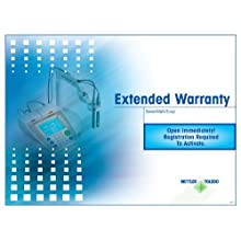 Mettler Toledo 12 Month Extended Warranty, For pH and Conductivity Meters