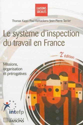 Le systeme d 39 inspection du travail en france missions organisation et preroga - Organisation du travail en cuisine ...