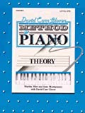 img - for David Carr Glover Method for Piano / Theory / Level 1 book / textbook / text book