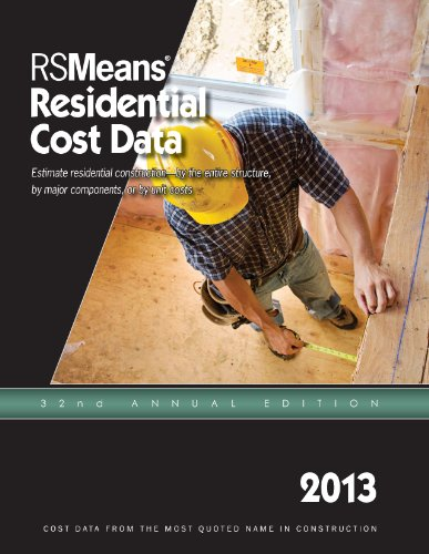 RSMeans Residential Cost Data 2013 - RS Means - RS-Residential - ISBN: 1936335727 - ISBN-13: 9781936335725
