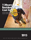 RS Means Residential Cost Data 2013 Book