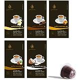 Gourmesso Flavor Bundle - 50 Nespresso® Compatible Coffee Capsules - $0.50/pod
