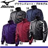 ミズノ(MIZUNO) グラウンドコート プロモデル(阪神タイガースレプリカモデル) 52WM331 79 ブラック/ホワイト L