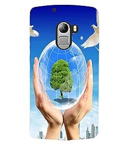 ColourCraft Creative Art Design Back Case Cover for LENOVO A7010
