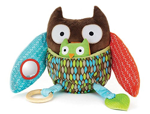 Hug And Hide Activity Toy Owl Baby Rattle Toys 0-12 Months Kids Gifts For Newborn front-1050411