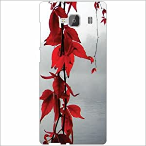 Xiaomi Redmi 2 Prime Back Cover - Silicon Red Flower Designer Cases