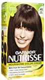 Nutrisse Nourishing Color Creme No 40 Dark Brown By Garnier for Unisex