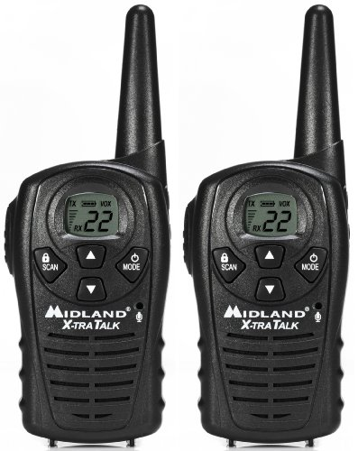 Midland LXT114 22-Channel 18-Mile FRS/GMRS Two-Way Radio (Pair)