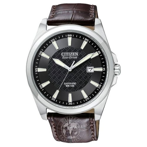Citizen Gents Eco Drive Strap Watch BM7100-08E