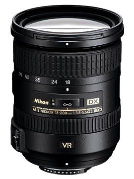 Nikon 18-200mm f/3.5-5.6G AF-S Nikkor ED VR II Zoom Lens (USA Warranty)