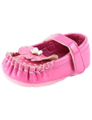 Doink Kids Girls My First Bally Shoes - Fuchsia