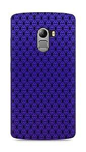 AMEZ Pattern Purple Back Cover For Lenovo K4 Note