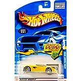 2001 Mattel Hot Wheels Lotus Project M250 (Yellow) Collector #231 5 Spoke Wheels Tinted Windows Race & Win Card...