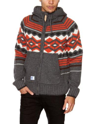 Addict M16K01 Men's Sweatshirt Pewter Small