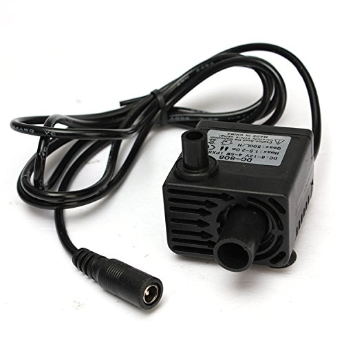 12V 500L Mini Water Pump Brushless Ultra Quiet Motor Submersible Pump (Irrigation Pump And Motor compare prices)