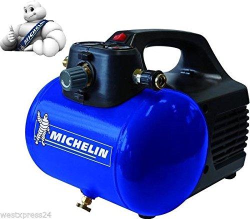 Michelin ca mbl6 compresor 6 lt 8 bar 33 litros min 0 4hp for Compresor michelin mbl6